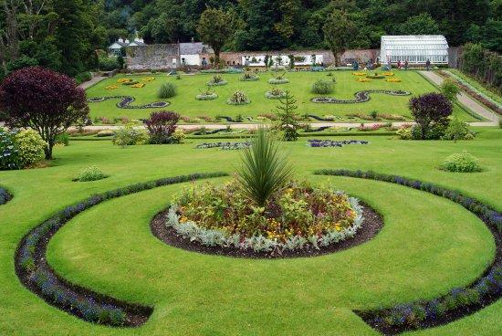 Kylemore Abbey & Victorian Walled Garden: Parte dei Giardini Vittoriani