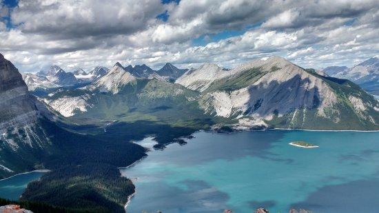 Kananaskis Country, Kanada: Rawson's Lake Trail and Sarrail Ridge