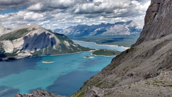 Kananaskis Country, كندا: Rawson's Lake Trail and Sarrail Ridge