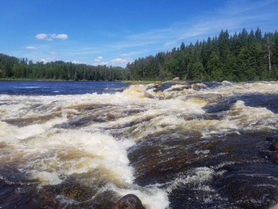Whitemouth, Canada : The falls