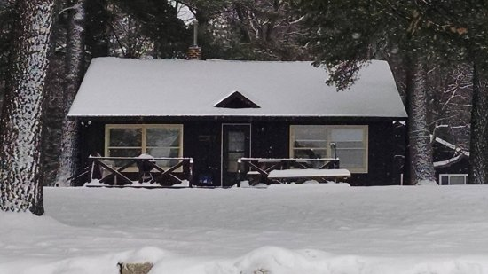 Saint Germain, WI: Winter , cabin # 6 , snowmobile, ski or snow shoe right from your door