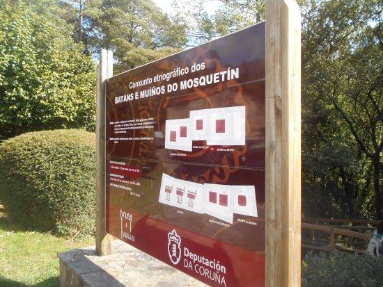 Los Batanes de Mosquetin: Cartel informativo