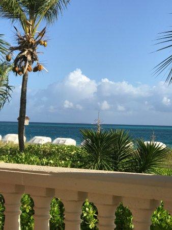 بوينت جريس: View from patio!