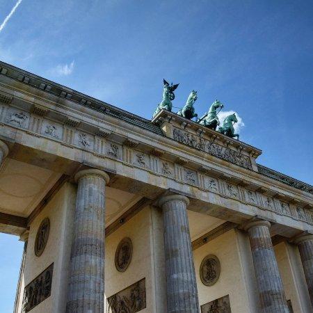 Brandenburg Gate: Porta di Brandeburgo