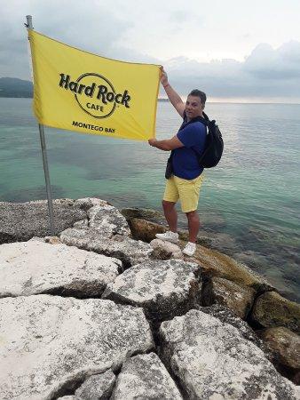 Hard Rock Cafe Montego Bay: Plage privée