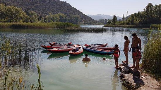 Ploce, Croatia: Baćina lakes Life&Ventures kayak trip