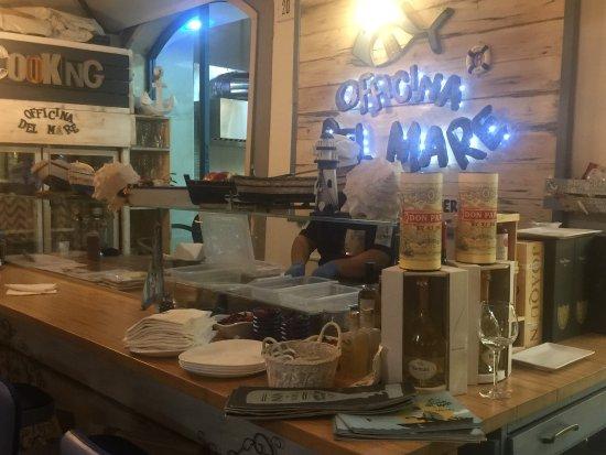 Officina Del Mare Napoli Naples Restaurant Reviews