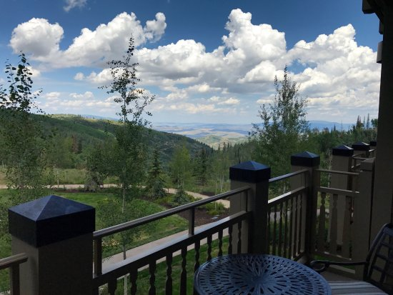 Montage Deer Valley : View from patio