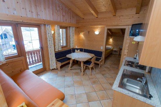 Ortnerhof: Familien-Apartment/Wohnküche/2 Schlafz./Du/WC/Balkon