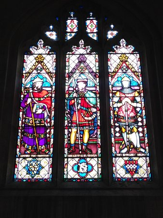 Winchcombe, UK: St Mary's Church stained glass window