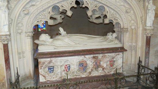 Winchcombe, UK: Cathrine Parr's Tomb