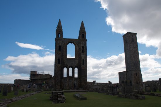 St Andrews Cathedral: The lovely ruins