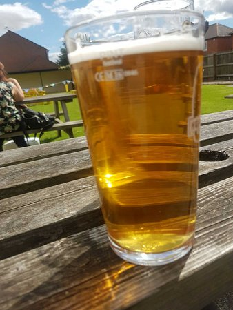 Beeston, UK: Pint of Dizzy Blonde