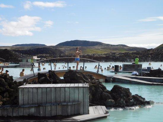 Grindavik, Islandia: Les eaux bleutées du Blue Lagoon