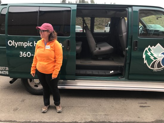 Port Angeles, WA: Jessie the Guide Driver