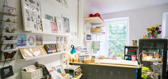 Clonakilty, Ireland: Little Green Dot Irish-Made Design Shop showcasing the work of 15 local Makers