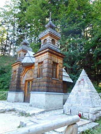 Kranjska Gora, Slovenië: Vrsic - chiesa russa