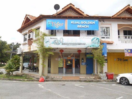 Kijal, Malasia: Grandview Cafe Frontage
