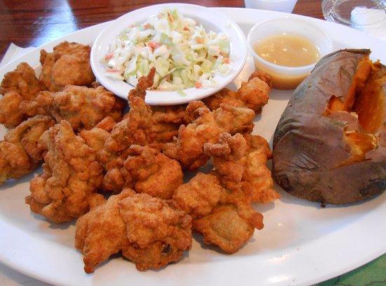 Deltaville, Вирджиния: Fried Oysters