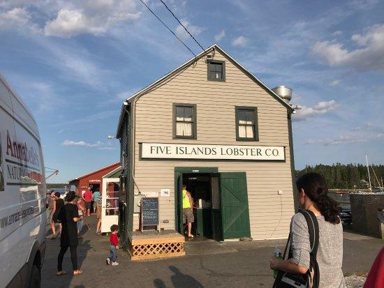 Georgetown, ME: Five Islands Lobster Co