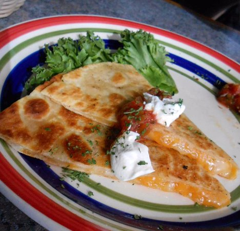 White Stone, Wirginia: Cheese Quesadilla