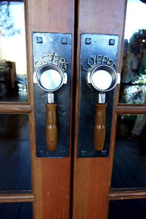 Sisters, OR: Check out these door handles!