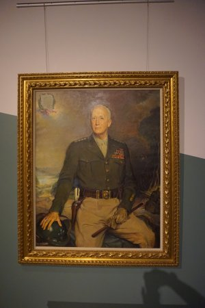 Fort Knox, KY: Patton's Portrait