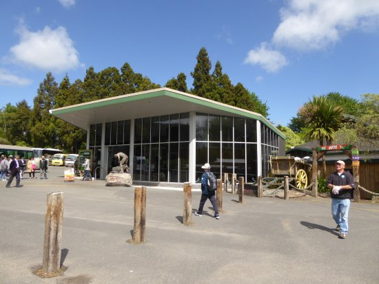 Ngongotaha, New Zealand: Agrodome Building