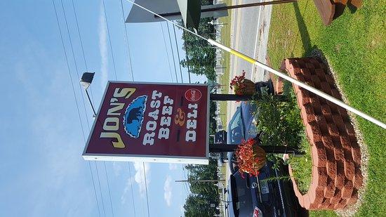 Laconia, Nueva Hampshire: Jon's Roast Beef & Deli