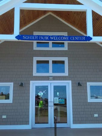 York, ME: The Welcome Center which has a gift shop and restrooms