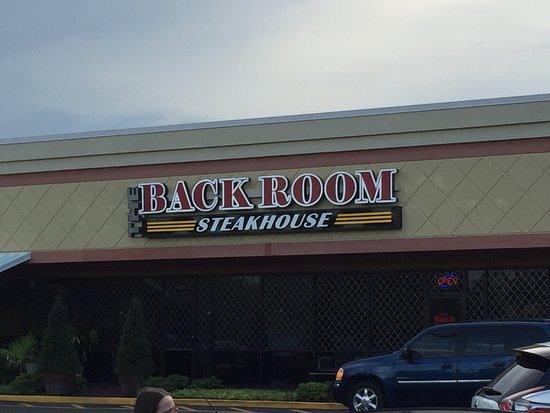 Back Room Steakhouse: Nice