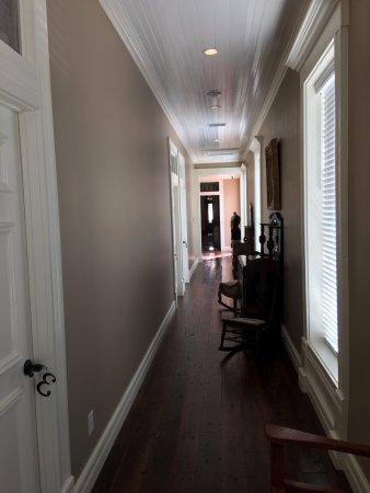 Jefferson, TX: Hotel hallway