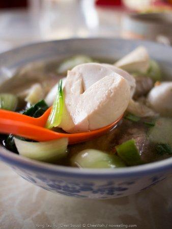 Kulim, Malásia: Yong Tau Fu (Clear Soup)