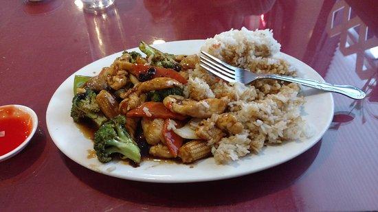 Midland, MI: Hunan chicken