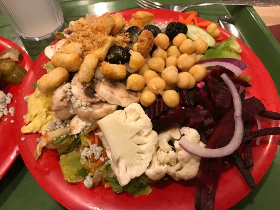 Salad Buffet - Sweet Tomatoes in Fremont