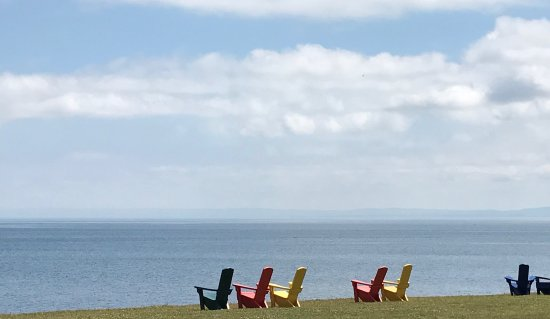 Pictou Lodge Beachfront Resort: View over Northumberland Strait