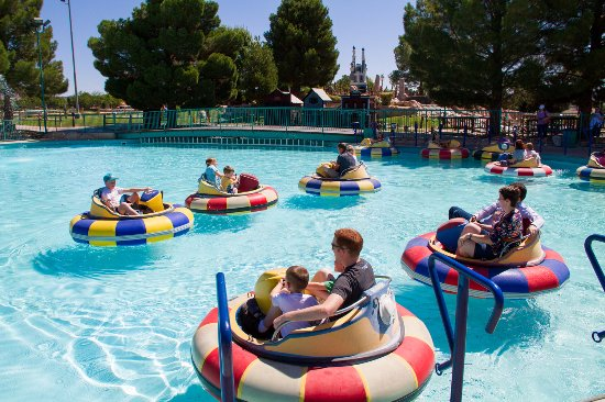 St. George, UT: Cool off in our bumper boats that run year round for those brave enough to ride in the winter.