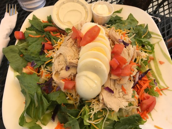 Plymouth, MI: Chef's salad with Ranch