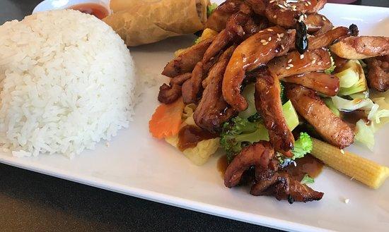 Thai Chaiyo: Lunch Special Teriyaki Chicken2