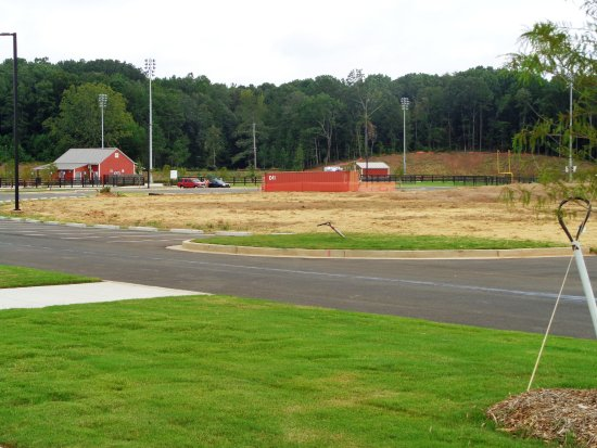 Canton, GA: Still brand new, giving the grass time to grow.