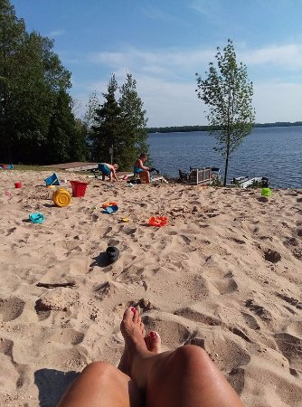Carp Lake, MI: relaxing