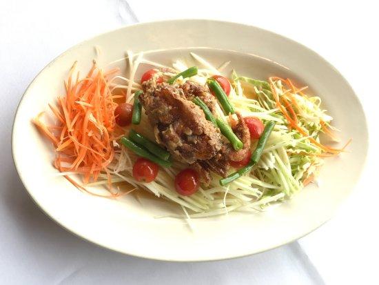 Thai Chaiyo: Papaya Salad Soft Shell Crab