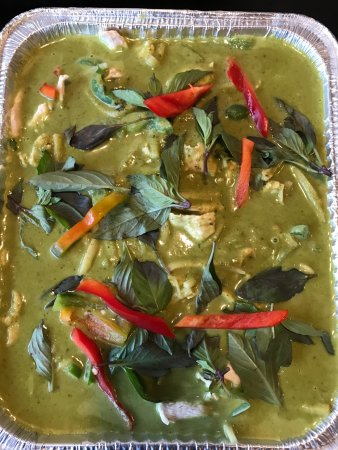Тастин, Калифорния: Red Curry Party Tray