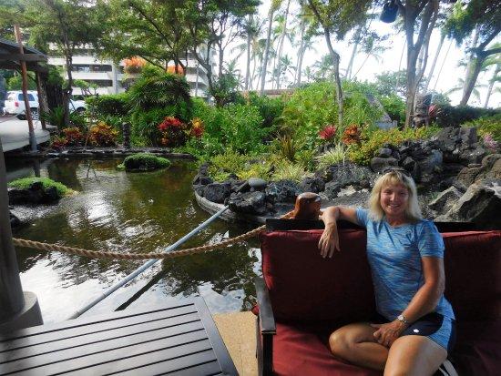 Royal Kona Resort: lobby area