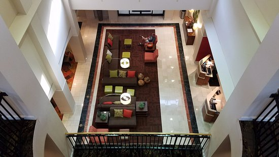 Hickory, NC: View of the reception area and lobby.