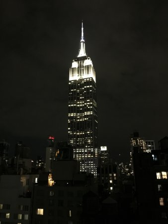 Archer Hotel New York: View from Spyglass Bar on top of the hotel