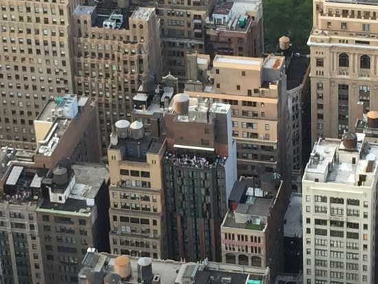 Archer Hotel New York: View of hotel/rooftop from the Empire State Building