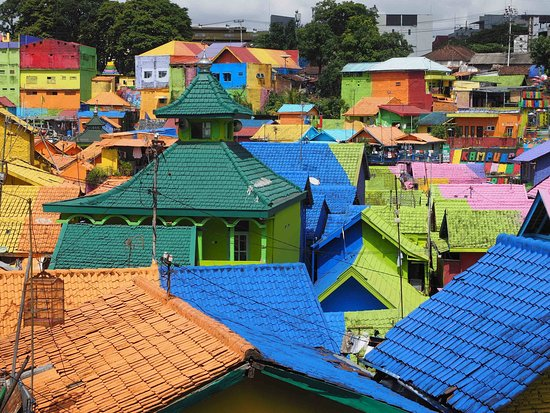 Jodipan Colorful Village