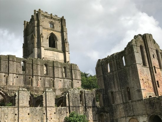 Ripon, UK: The immense size of the ruins is startling