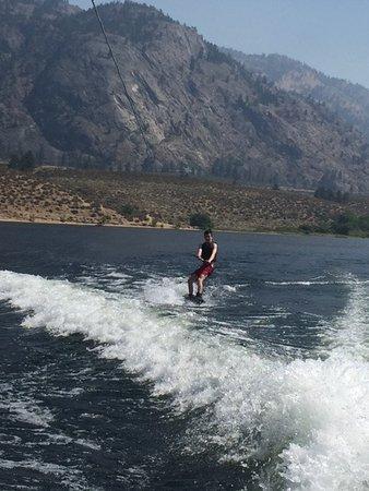 Osoyoos, Kanada: Wakeboarding